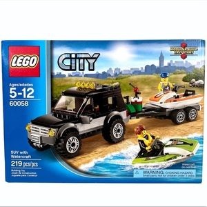 LEGO City SUV with Watercraft (60058)